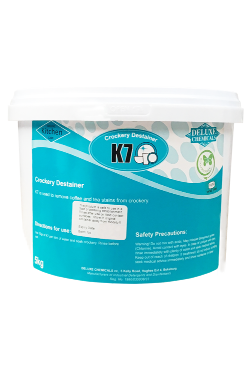 powder destainer used to clean crockery, plastic and cups