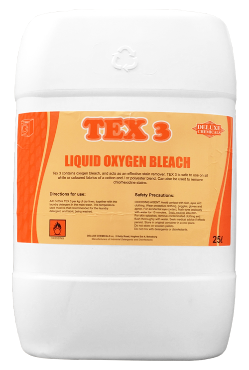 TEX 3: Laundry Oxygen Bleach - Deluxe Chemicals