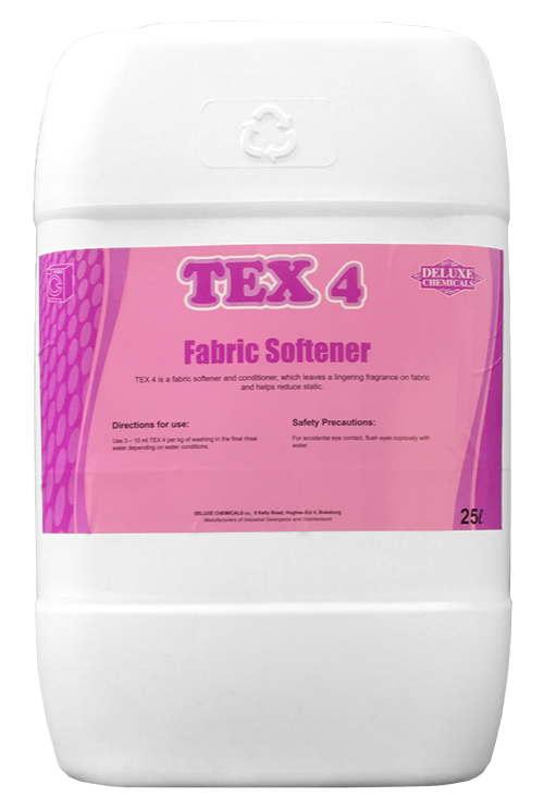 fabric softener for use on all fabric types for a fresh smell and soft linen