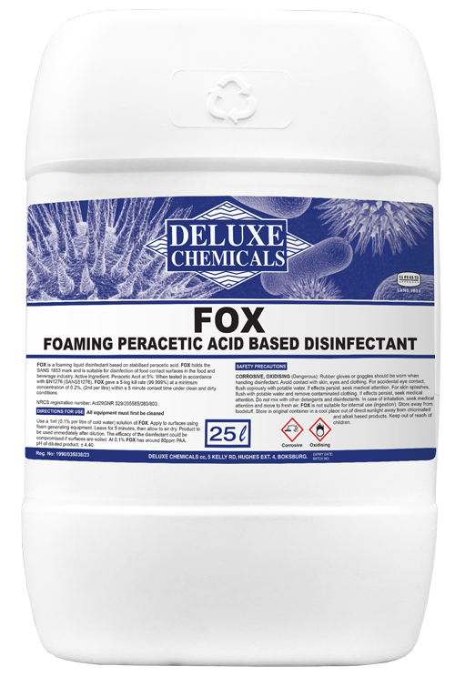 Peracetic acid disinfectant