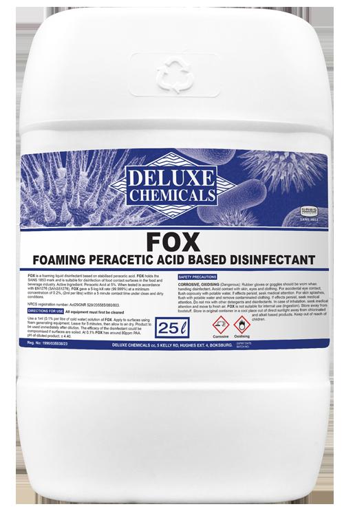 Peracetic acid disinfectant