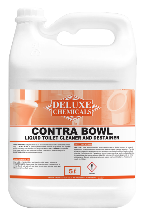 Removes stubborn stains, deposits and lime scale build-up from toilets and urinals
