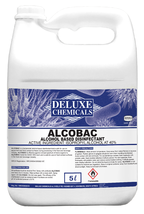 Alcohol based disinfectant